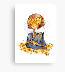 FlowerFell Canvas Print