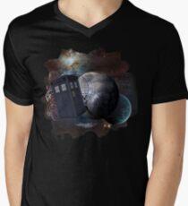 Time Flight 2 Men's V-Neck T-Shirt
