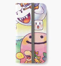 Yoshi's Island iPhone Wallet/Case/Skin
