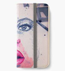 Makeup face iPhone Wallet/Case/Skin