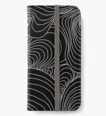 indie waves design iPhone Wallet/Case/Skin