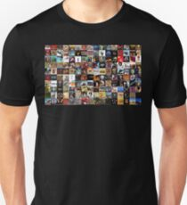 Classic rock covers - collage Unisex T-Shirt
