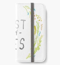 Just Say Yes - Zoella iPhone Wallet/Case/Skin