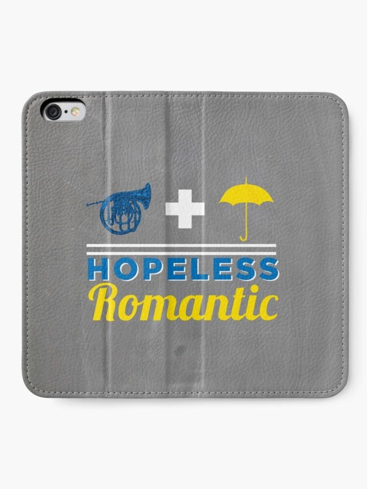 Vista alternativa de Fundas tarjetero para iPhone Romántico empedernido