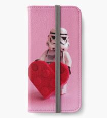 Trooper's Heart - Valentine, Birthday, Mother's Day Card iPhone Wallet/Case/Skin