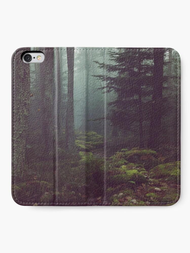 Alternative Ansicht von Waldnacht iPhone Flip-Case