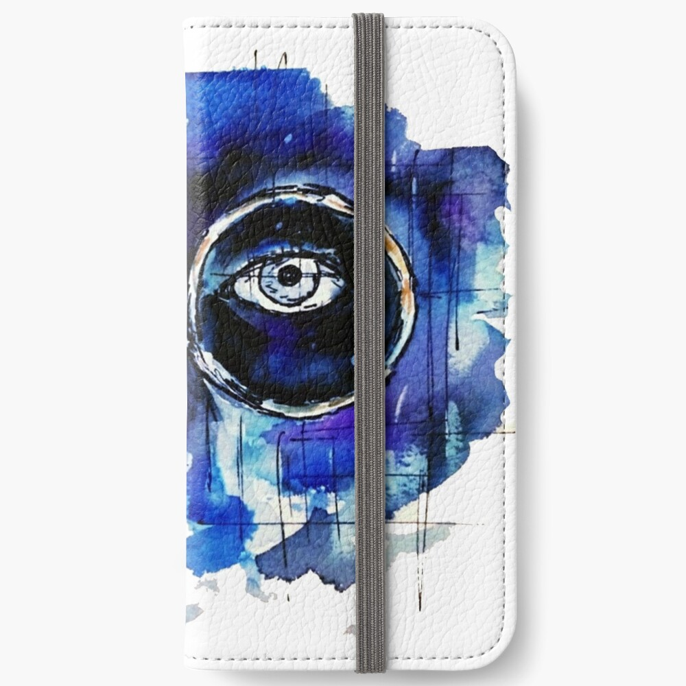 Tal der Asche iPhone Flip-Case