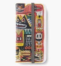 Mutant pop corn  iPhone Wallet/Case/Skin