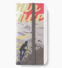 Le Tour de France retro poster iPhone Wallet/Case/Skin