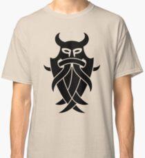 Odin's Mask Tribal (black) Classic T-Shirt