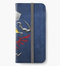 Twilight Princess Hylian Shield iPhone Wallet/Case/Skin