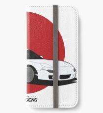 Mazda RX7 (aufgehende Sonne) iPhone Flip-Case/Hülle/Klebefolie