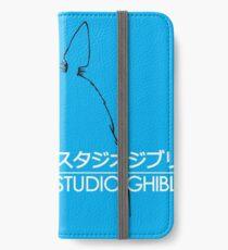 Totoro Studio Ghibli logo iPhone Wallet/Case/Skin