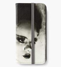 Braut von Frankenstein iPhone Flip-Case/Hülle/Skin