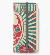 The Mysterious Mask iPhone Wallet/Case/Skin