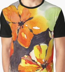 Sun-flowers Graphic T-Shirt