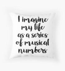 Life as a Musical Throw Pillow