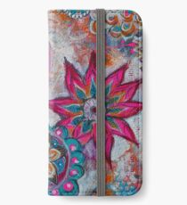 Be Brave. Love Deeply. Shine Brightly.  iPhone Wallet/Case/Skin