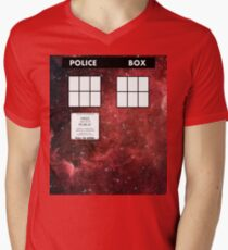 Through Time and Space Men's V-Neck T-Shirt