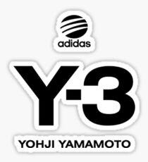 Yohji Yamamoto Y-3 Sticker
