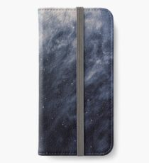 Blue Clouds, Blue Moon iPhone Wallet/Case/Skin
