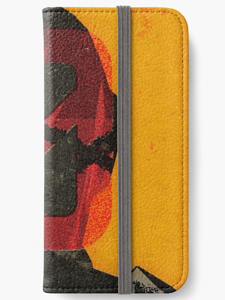 Zero Sum Vintage Poster iphone case