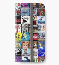 Musicals Collage leggings iPhone Wallet/Case/Skin