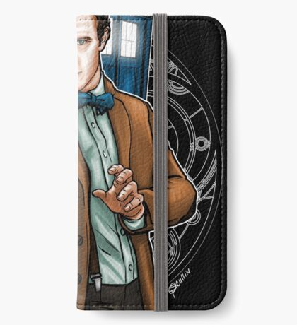 11th Doctor - Eleventh Heaven iPhone Wallet