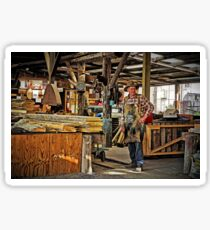 Morrisons Huon Pine Sawmill - Strahan Tasmania Sticker