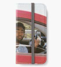 Kindliches Gambino iPhone Flip-Case/Hülle/Klebefolie