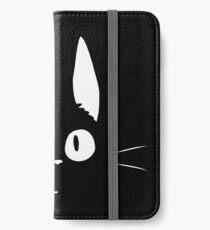 Jiji le chat Étui portefeuille/coque/skin iPhone