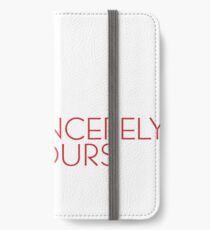 Sincerely Yours, The Breakfast Club iPhone Wallet/Case/Skin