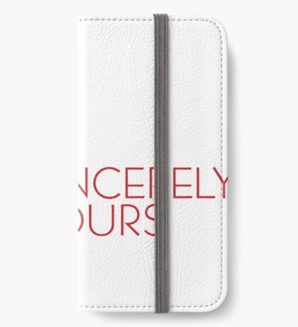 Sincerely Yours, The Breakfast Club iPhone Wallet