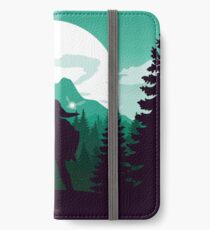 The Legend of Zelda (Green) iPhone Flip-Case/Hülle/Klebefolie