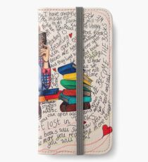 Reading is Dreaming with Open Eyes. iPhone Wallet/Case/Skin