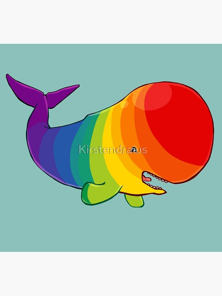 Homosexuwhale - no text by Kirstendraws