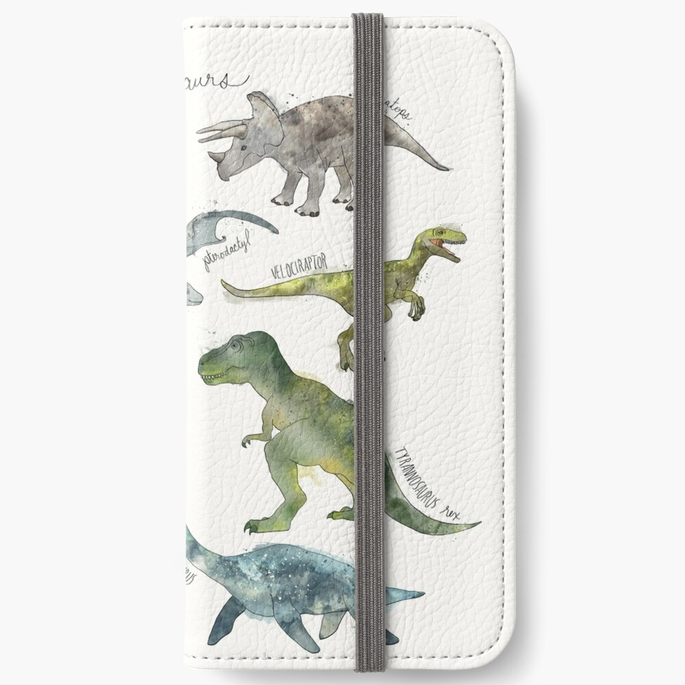 Dinosaurs iPhone Wallet