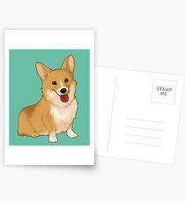 Cute smiling corgi Postcards