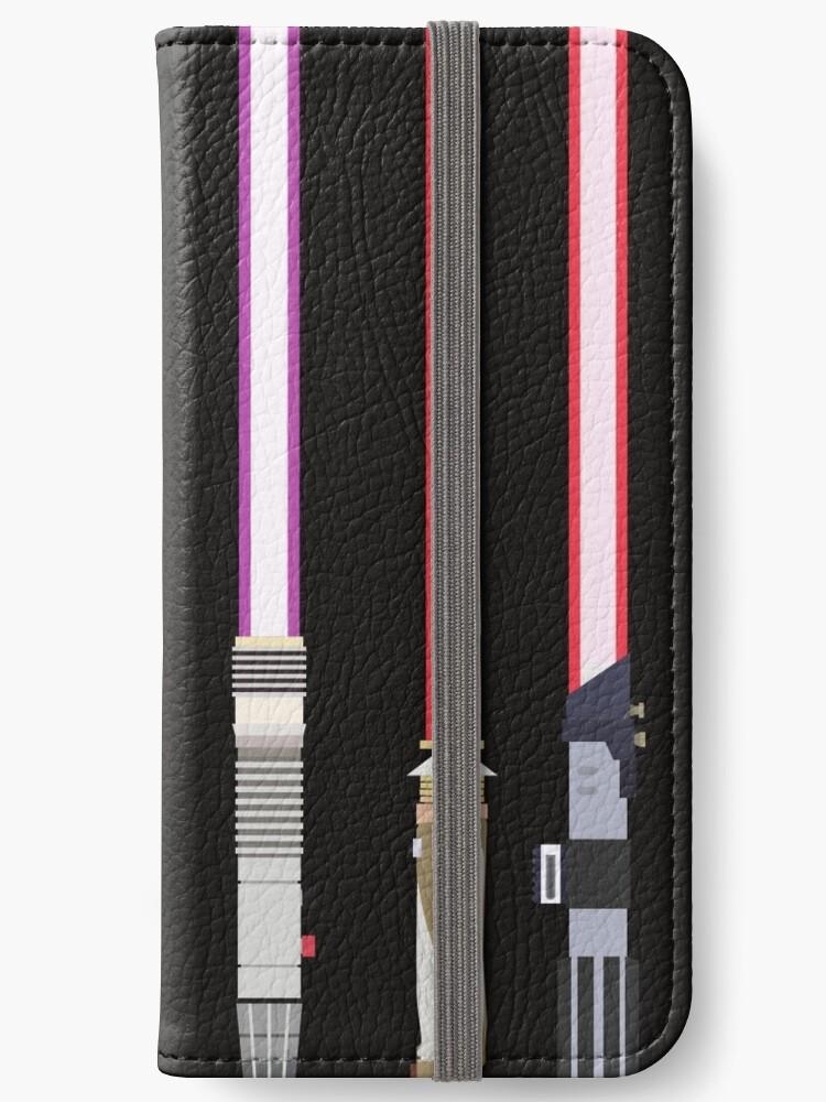 Star Wars Lightsaber Phone Case Wallet