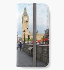 Big Ben and Red Telephone Booth iPhone Wallet/Case/Skin