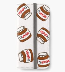 Cute Tumblr Nutella Pattern iPhone Wallet/Case/Skin