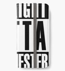 Straight Outta Manchester iPhone Wallet/Case/Skin