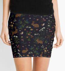 Garden Rabbits Mini Skirt