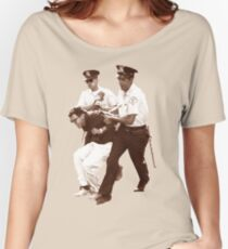 Bernie Sanders Arrested Women's Relaxed Fit T-Shirt
