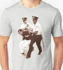 Bernie Sanders Arrested Slim Fit T-Shirt
