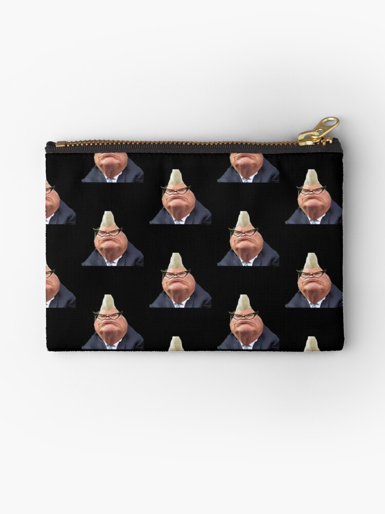 'Donald Trump as Roz from Monsters Inc 2016' Studio Pouch by ReallyBadShirts