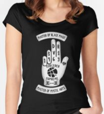 Sorcerer Hand Women's Fitted Scoop T-Shirt
