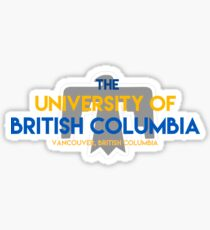 UBC with thunderbird Sticker