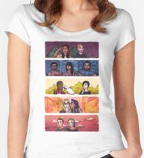 Sense8 Rainbow Women's Fitted Scoop T-Shirt