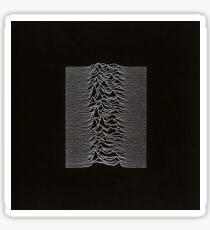 Unknown Pleasures album cover Sticker